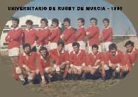 Universitario de Rugby en 1980