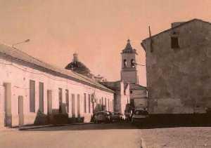 Panorámica de Alguazas y su iglesia