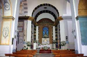 Interior de la Parroquia de la Asunción en La Tova (Lorca) [La Tova]