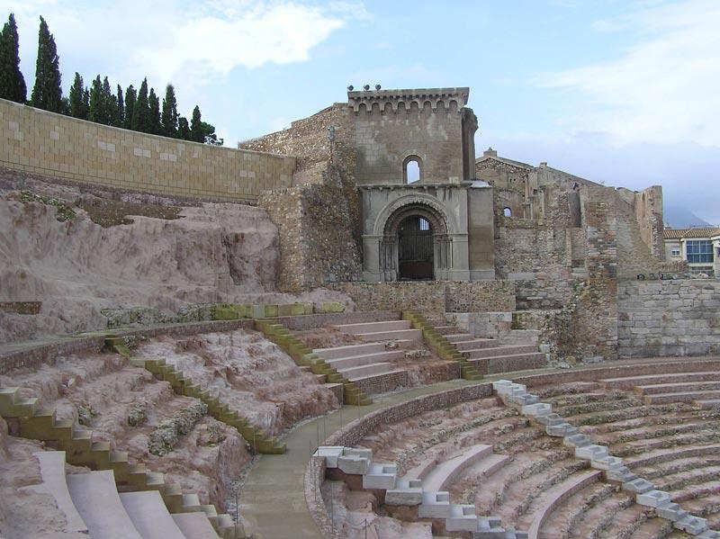 Baños Romanos Fortuna:Arqueología en la Región de Murcia – Yacimientos – Romanización