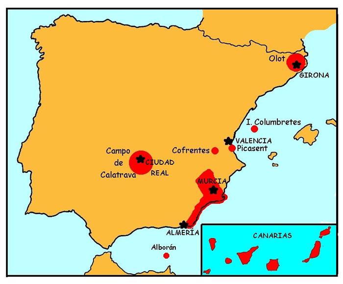 Biolog a y geolog a el vulcanismo en espa a - Method homes espana ...