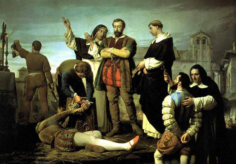 Antonio Gisbert sobre la ejecución de los comuneros de Castilla