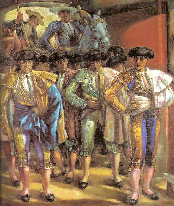 El paseillo, por Luis Garay