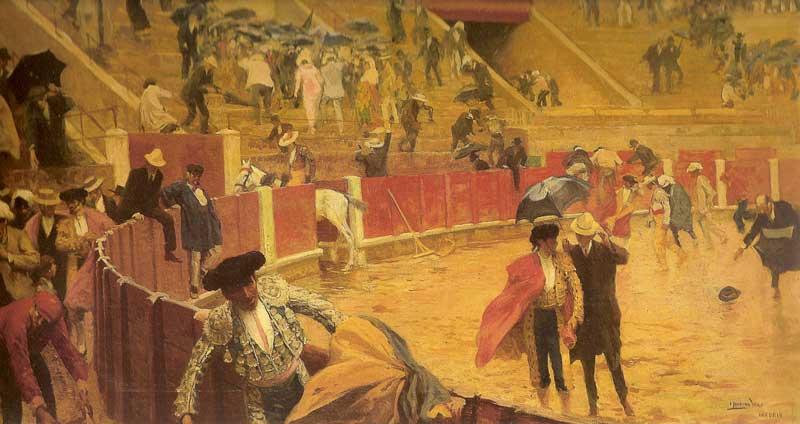 A casa que llueve (1904), por I. Medina Vera