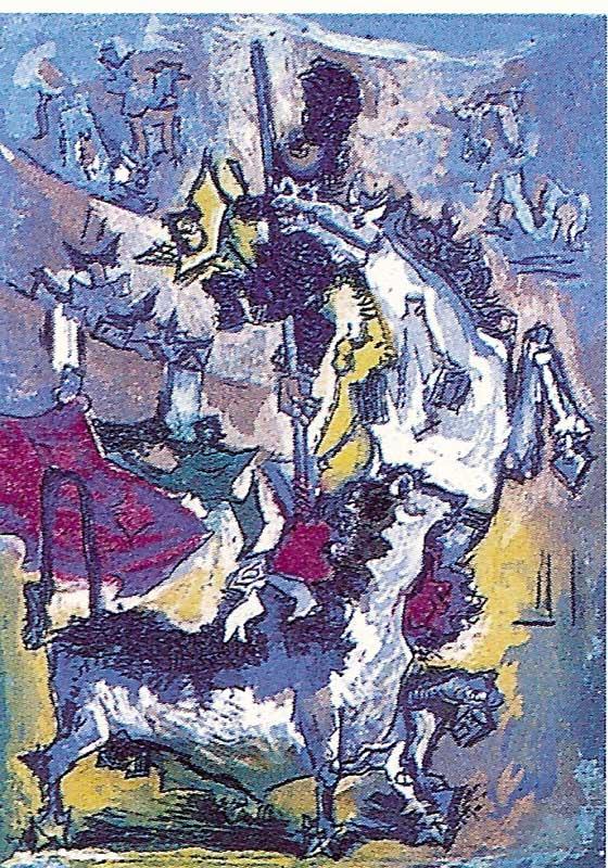 Obra de Pedro Flores [toros y pintores]