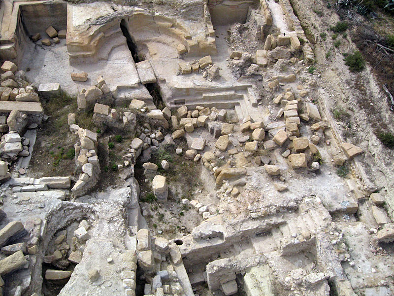 Baños Romanos Historia:Baños Romanos de Fortuna