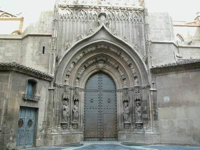 Iglesia catedral de santa mar a historia regi n de - Puertas de interior en murcia ...