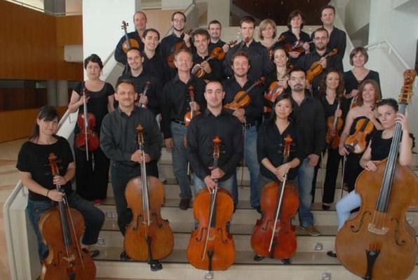 Sección de Cuerda de la Orquesta Sinfónica de la Región de Murcia