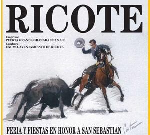 Cartel Fiestas Ricote