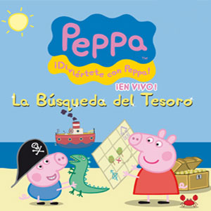 Peppa pig la b squeda del tesoro regi n de murcia digital for Espectaculo peppa pig uruguay