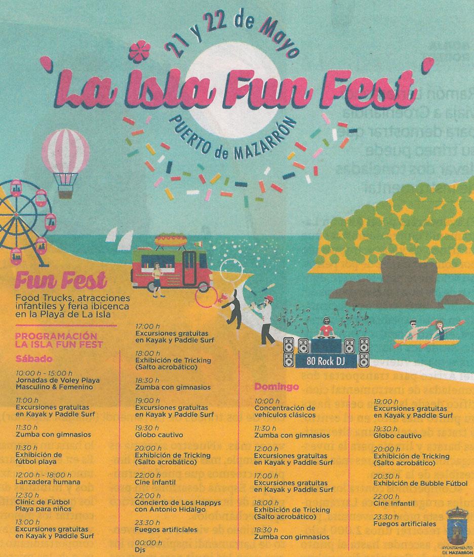 I La Isla Fun Fest Mazarrón