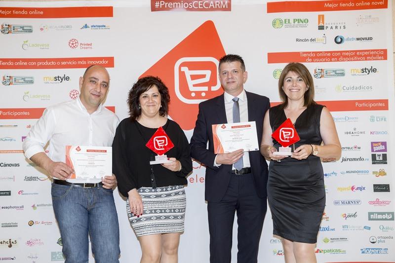 Cuidadicos y Rincón del Licor. Ganadores Concurso Cecarm 2016
