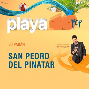 CONCIERTO 40 PRINCIPALES LO PAGAN (MURCIA)-40 Playa Pop San Pedro del Pinatar 2018