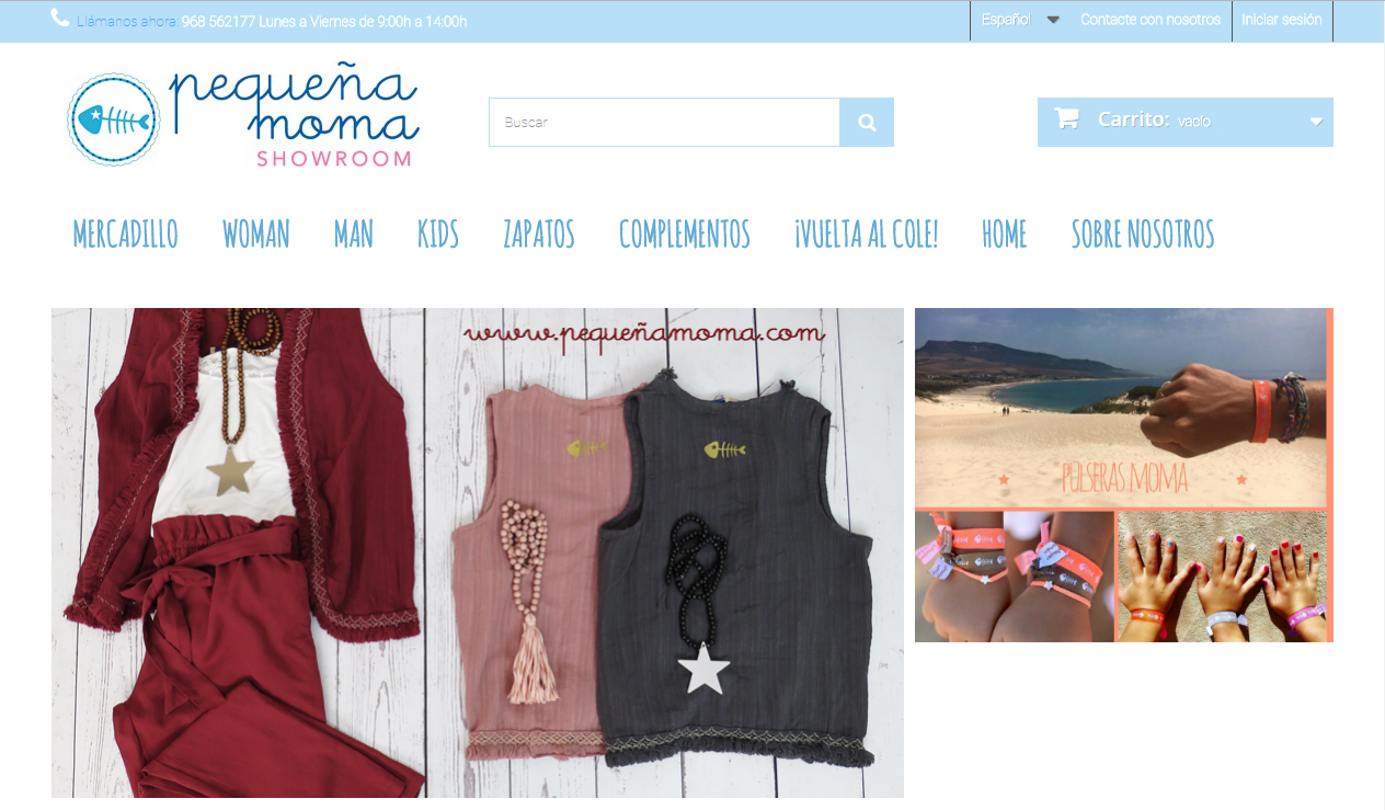 Pequeña Moma tienda online