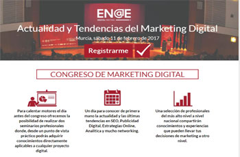 Congreso Marketing Digital. Meeting EN@E