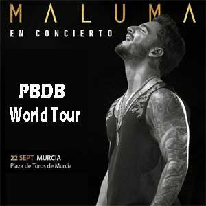 Concierto Maluma en Plaza de Toros de Murcia