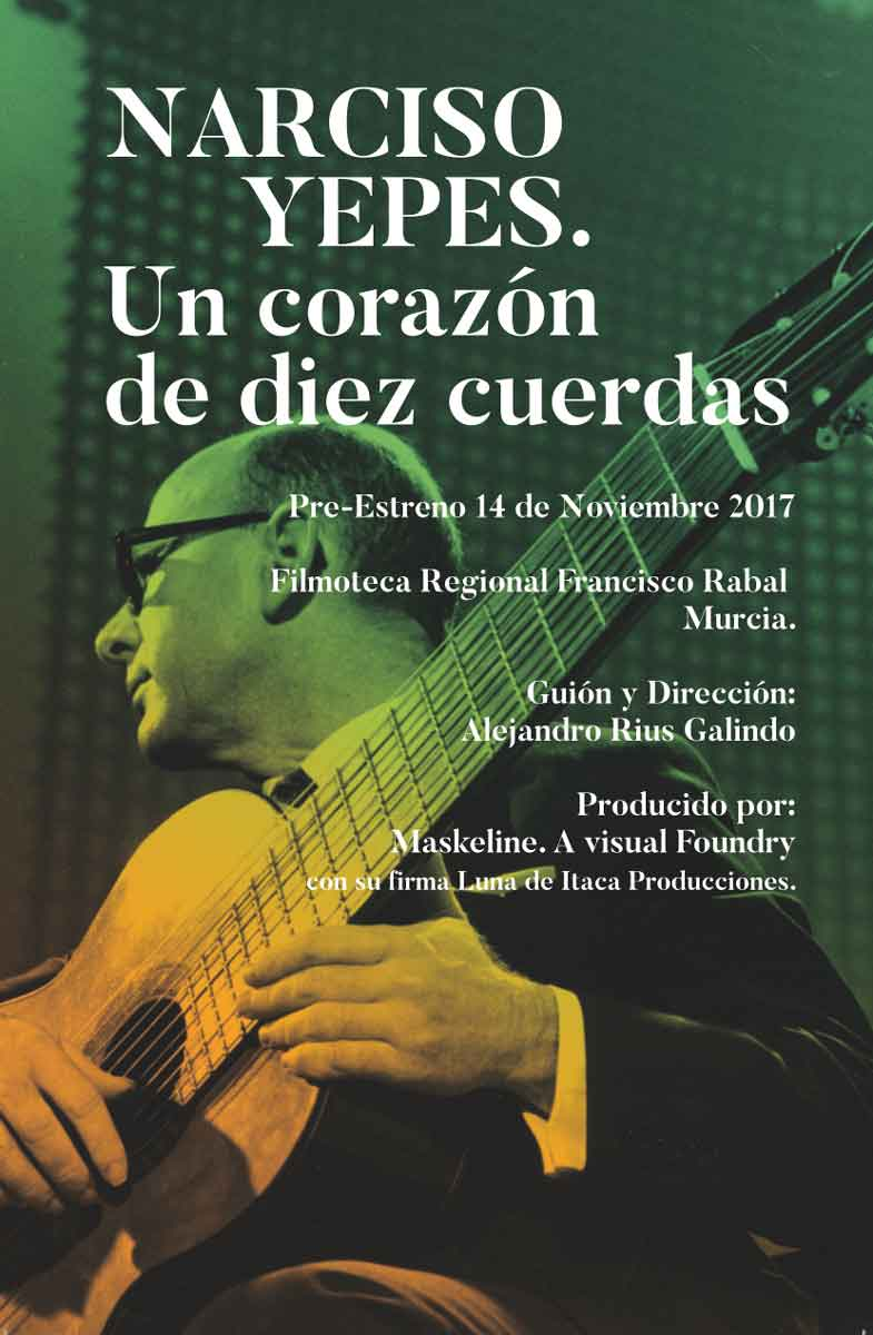 Documental sobre Narciso Yepes