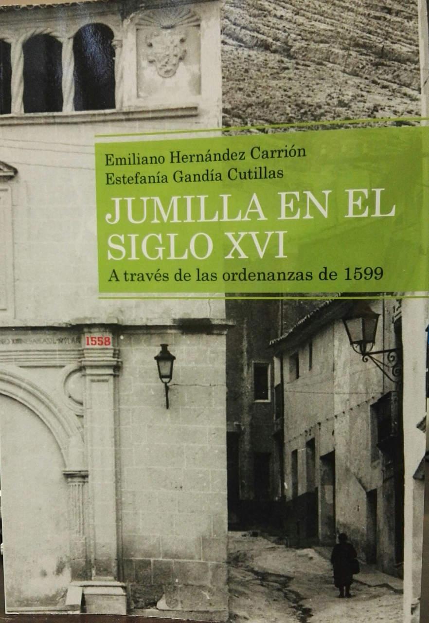 Portada del libro Jumilla en el siglo XVI