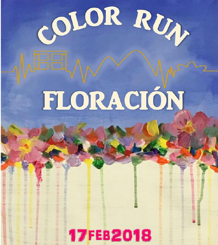 Color Run Floración