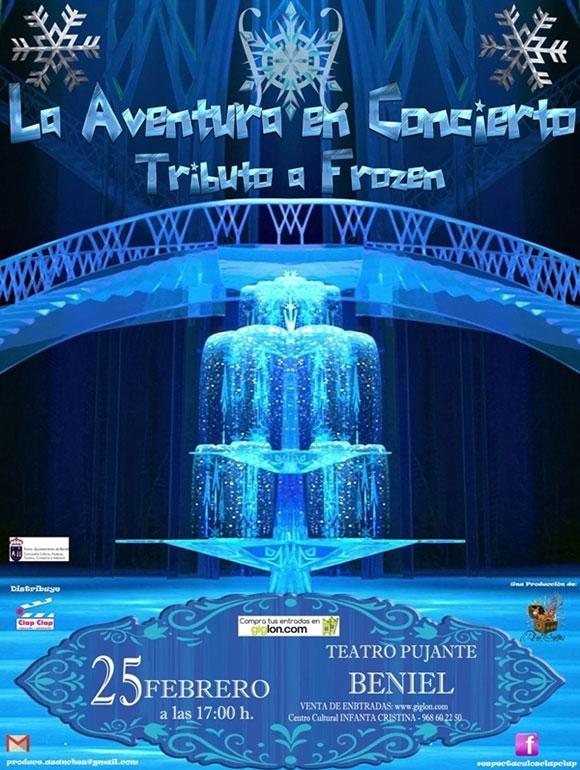 Tributo a Frozen en Beniel-La Aventura en concierto