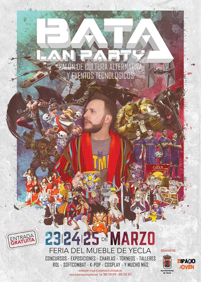 Bata Lan Party, Salón de cultura alternativa y eventos tecnológicos