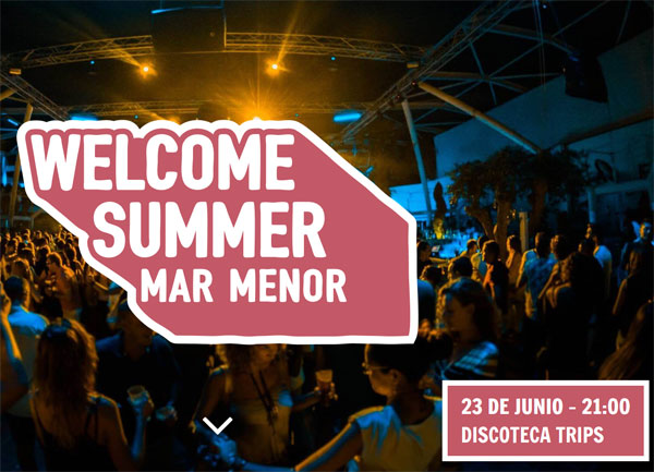 2ª WELCOME SUMMER MAR MENOR