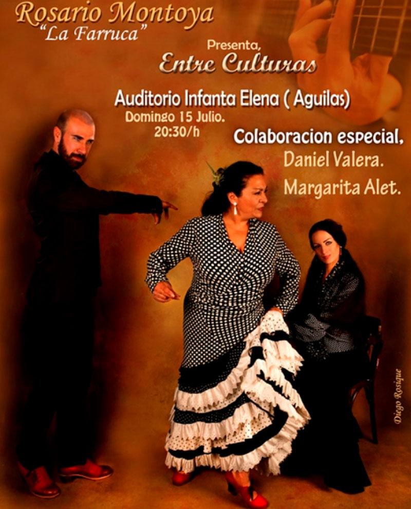 """Rosario Montoya, """"La Farruca"""" en Entre Culturas Aguilas"""