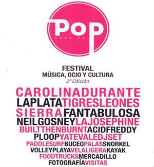 Festival Cabo de Pop 2018 en Cabo de Palos