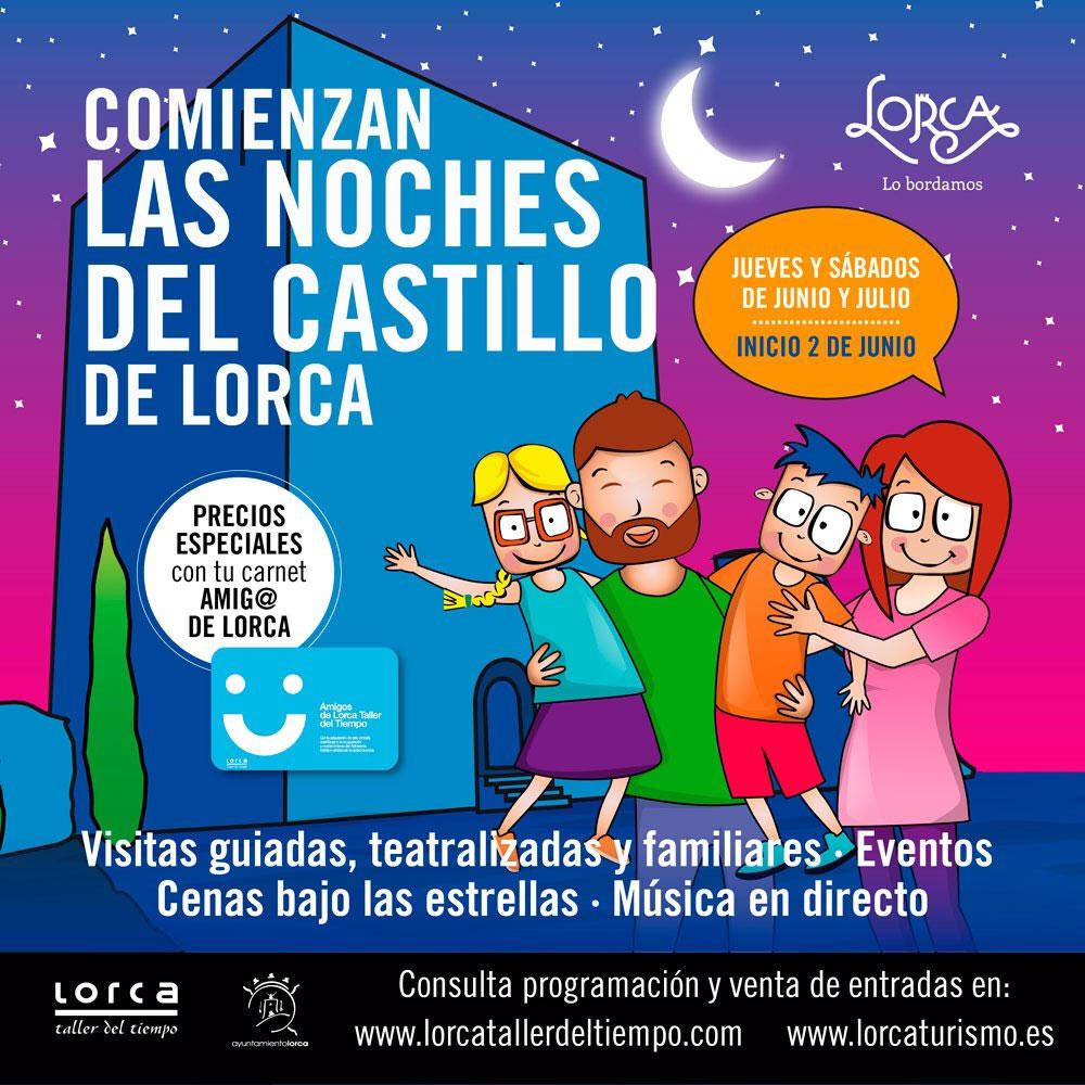 Noches del Castillo de Lorca 2018