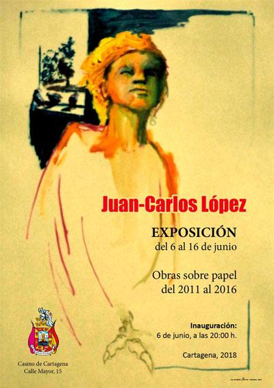 Exposición 'Obras sobre papel del 2011 al 2016' del pintor Jean Charles López,