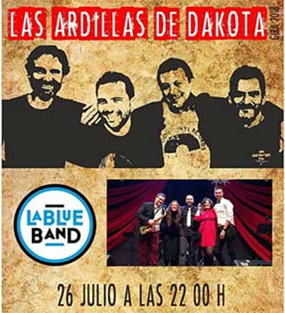 Las ardillas de Dakota y la Blue Band