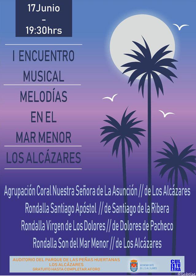 Encuentro Musical 'Melodías en el Mar Menor' en Los Alcázares