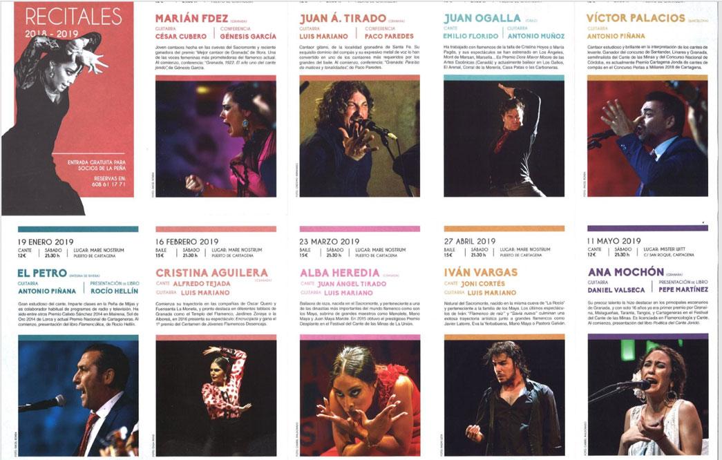 Ciclo Flamenco Cartagena Jonda
