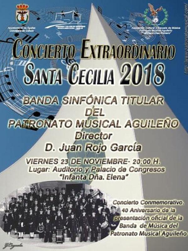 Concierto Extraordinario Santa Cecilia 2018