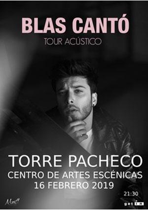 Blas Cantó, Tour Acústico
