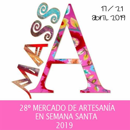 Mercado de Artesanía en Semana Santa de Lorca 2019