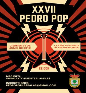 XXVII edición Pedro Pop