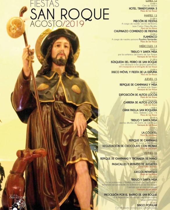Fiestas de Alcantarilla en honor de San Roque 2019