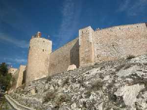 Murallas de la fortaleza caravaqueña
