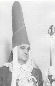 Raimundo de los Reyes - Mayordomo de honor de la preciosisima sangre