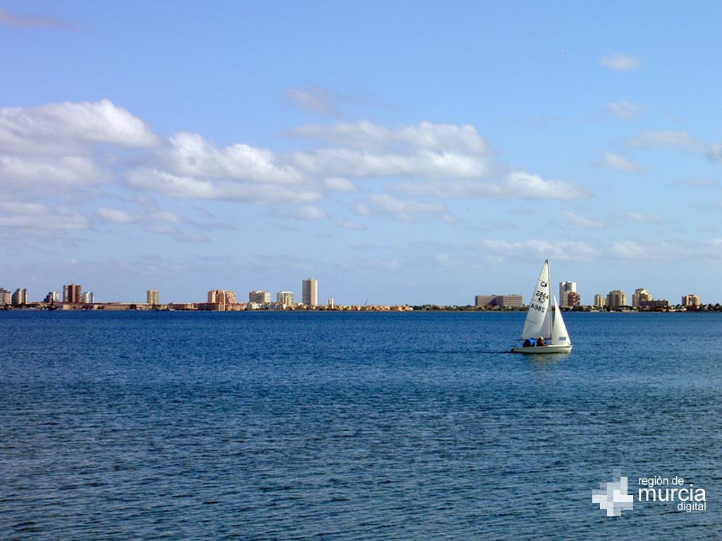 Actividades náuticas en el Mar Menor