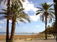 Panorámica de playas del litoral del Mar Menor