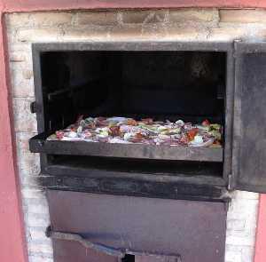 Diferencias entre asar y braser al horno masqsano - Cocinar en horno de lena ...