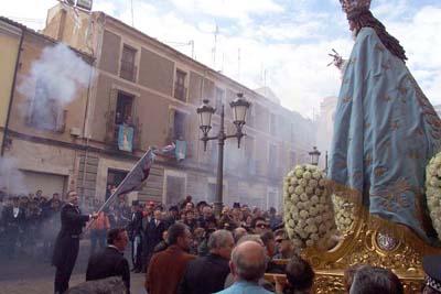 dominante Virgen baile en Murcia