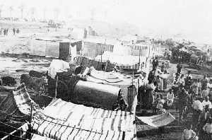 Barraca huertana en Los Alcázares. Años 30'