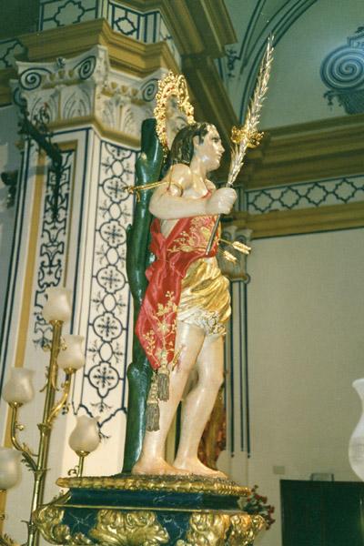 Fiestas Patronales de Ricote en honor a San Sebastián- Historia