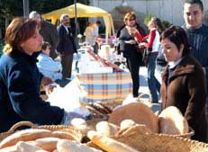 Mercadillo artesanal de Ceutí
