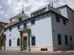 Vista de la fachada de la Iglesia de Nuestro Padre Jesús Nazareno de Murcia (Museo Salzillo)