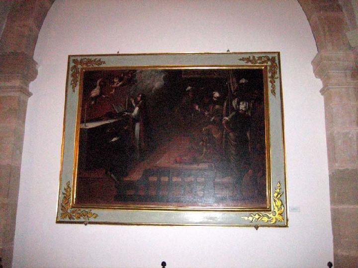 Cruz de Caravaca - Alegoria  leyenda Santa Cruz.  S-XVIII -[Pec011/S-XVIII]* Integra.servlets.Imagenes?METHOD=VERIMAGEN_40085&nombre=1-misa-de-aparicion-caravac_res_720