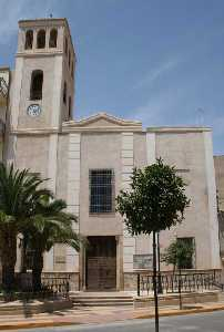 Iglesia de Nuestra Señora del Rosario de Puerto Lumbreras [Puerto Lumbreras_Historia]